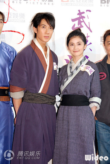 Wu Chun has the male lead role
